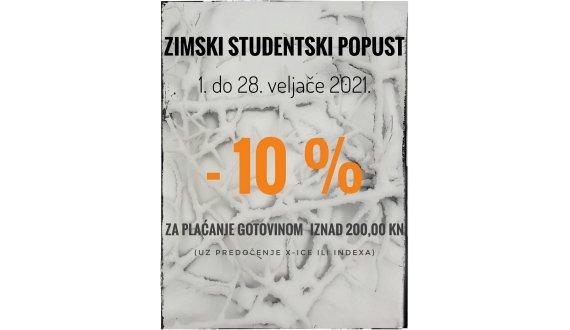 Zimski studentski popust